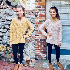 Popcorn Sweaters